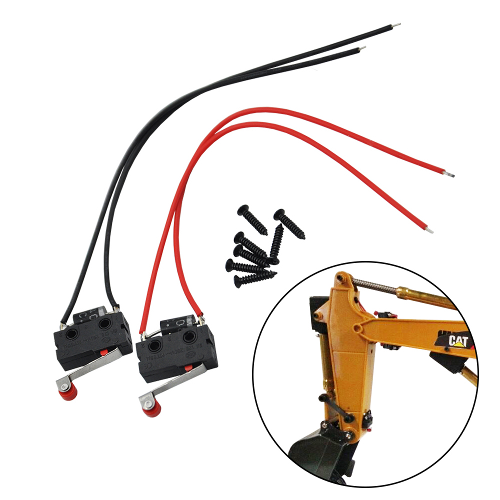 Upgrade Limit Switch For Arm Driving Servo Parts Of HUINA 15 Channel 1550 1/14 RC Metal Excavator Limit Part
