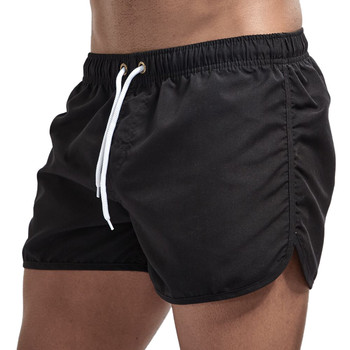 Mens Spring and Summer Splicing Trousers Beach Surfing Shorts