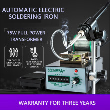 Automatic Soldering Machine Tin Feeder Foot Rest Constant Temperature Soldering Station Suit 375 Internal Heated Soldering Iron