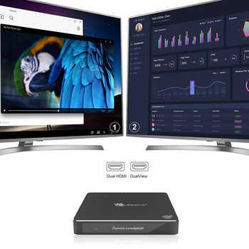 Beelink Gemini T34 Mini PC N3450 Quad Core 4K HTPC Fan Windows 10 8GB 128GB support M.2 SSD BT4.0 1000M LAN NUC mini Computer