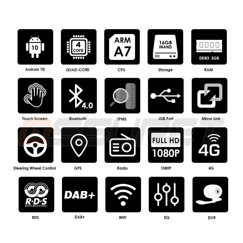 "Hizpoクアッドコア7 ""2Dinアンドロイド10車NO-DVDラジオマルチメディアプレーヤー1024*600ユニバーサルgpsナビゲーション、自動ラジオステレオオーディオ"