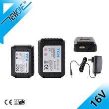 16V 2000mAh 4000mAh Liuthium バッテリー交換電池で電気ドリルコードレスパワーツール充電器 Accesso