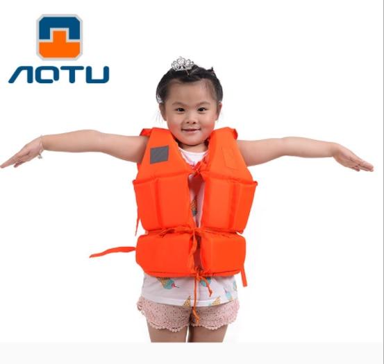"""""""Одежда для плавания, катания на лыжах, дрейфующий спасательный жилет со свистком размеров, водный спортивный человек, Детская куртка"""