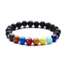 Натуральный красочный гематит 7 Чакр браслеты и для йоги баланса