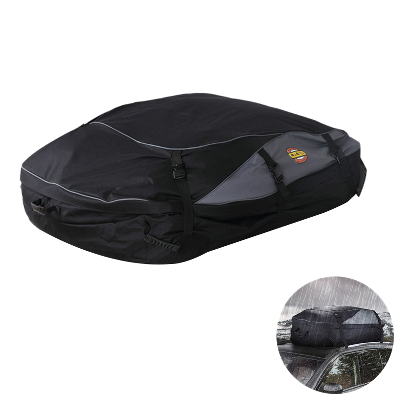 105x90x45Cm Car Roof Bag Luggage Case Waterproof Cargo Luggage Rack for Vehicles with Roof Rack Roof Racks & Boxes     - title=