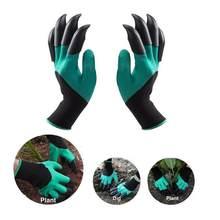 Gants de jardinage à griffes, en plastique et en plastique ABS, résistants, imperméables, pour l'extérieur, pour jardinage et excavation