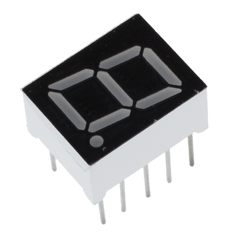 10 Pcs Common Cathode 10 Pin 1 Bit 7 Segment 0.39