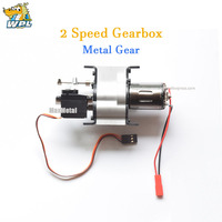 WPL Climbing Off road Fast Slow All metal Two Speed Gearbox DIY Upgrade Modified RC Car Model Toy Accessoris 4WD 6WD