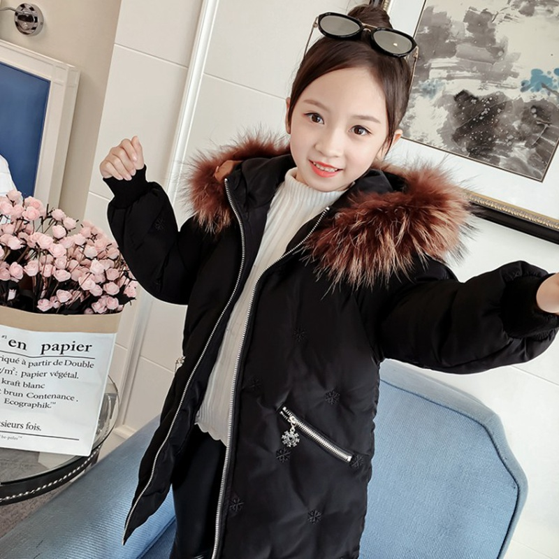 CROAL CHERIE Real Fur Outerwear & Coats Winter Jacket For Girls Children Winter Clothing Outerwear Coat Toddler Clothes (9)