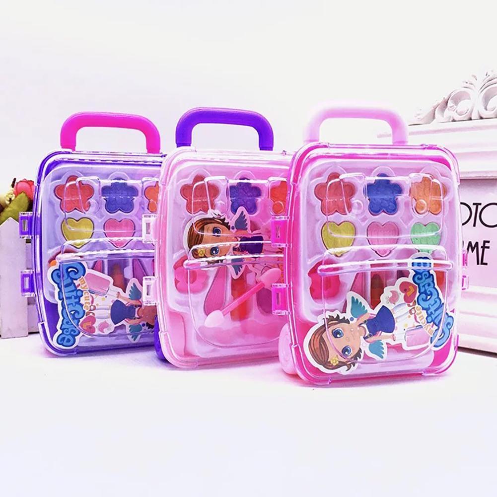 Cute Princess Pretend Makeup Set Cosmetics Simulation Kids Girls Children Toy Fashion makeup kit for kids, make them happy.