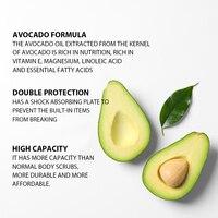 Avocado Body Scrub Exfoliating Scrub Deep Cleansing Pore Acne Treatment Exfoliating Gel Brightening Avocado Whitening Body Scrub 5