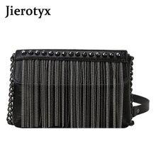 Jierotyx Готическая сумка через плечо с кисточкой для женщин