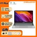 Ноутбук Teclast F7 Plus, 14,1 дюйма, Intel Gemini Lake N4100 8 ГБ ОЗУ 256 ГБ SSD full HD 1920x1080, Windows 10, клавиатура с подсветкой