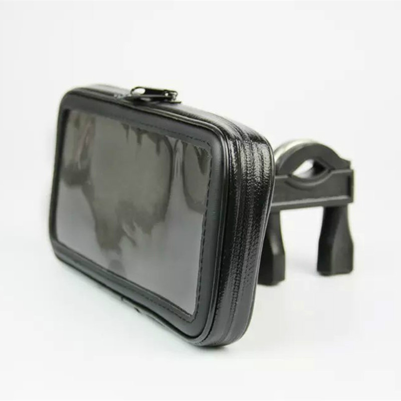 Bicycle <font><b>Motorcycle</b></font> Mobile Phone <font><b>Holder</b></font> Moto Support for iPhone/Samsung/xiaomi/huawei/LG Smartphones <font><b>GPS</b></font> with <font><b>WaterProof</b></font> Bag image