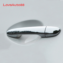 ABS Chrome Car Door Handle Cover Trim Car Styling Accessories For Mazda 2 3 6 Cx-5  2015 2016 2017 2018 2019 for hyundai i20 ii 2 2015 2016 2017 2018 chrome car door handle cover accessories
