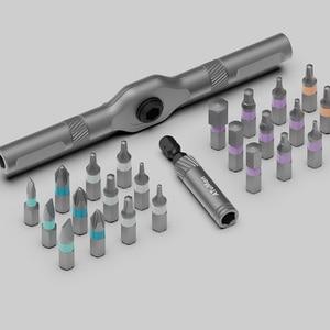 Image 5 - Youpin Duka RS1 24 в 1 Набор инструментов DIY Набор инструментов Механическая коробка для инструментов гаечный ключ гнездо отвертка Трещоточный ключ Набор 24 шт