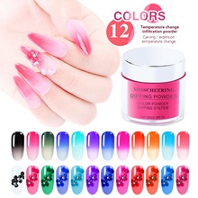 Dipping Powder Hot /cold active powder Thermal Color Change Nail Gradient Temperature