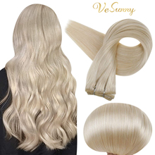 VeSunny Sew In Extensions Straight Human Wefts Hair Extensions Remy Straight Hair Bundles