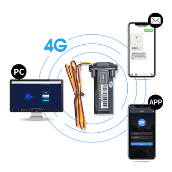 Easy Installation AODIHENG Deluxe GT02-2G 3G 4G Remote Cut-off Engine and No Need Charge GPS Tracker for Motorcycle or Car image