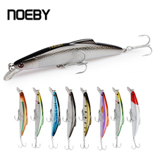 NOEBY 140mm 160mm Minnow Baits Fishing Lures Minnow Bass Fishing Lures Artificial Wobbler Model Crank Baits noeby 1 pcs 16 14cm 60 32g minnow bait fishing lures with vmc hooks minnow bass fishing lures artificial bait hunt house