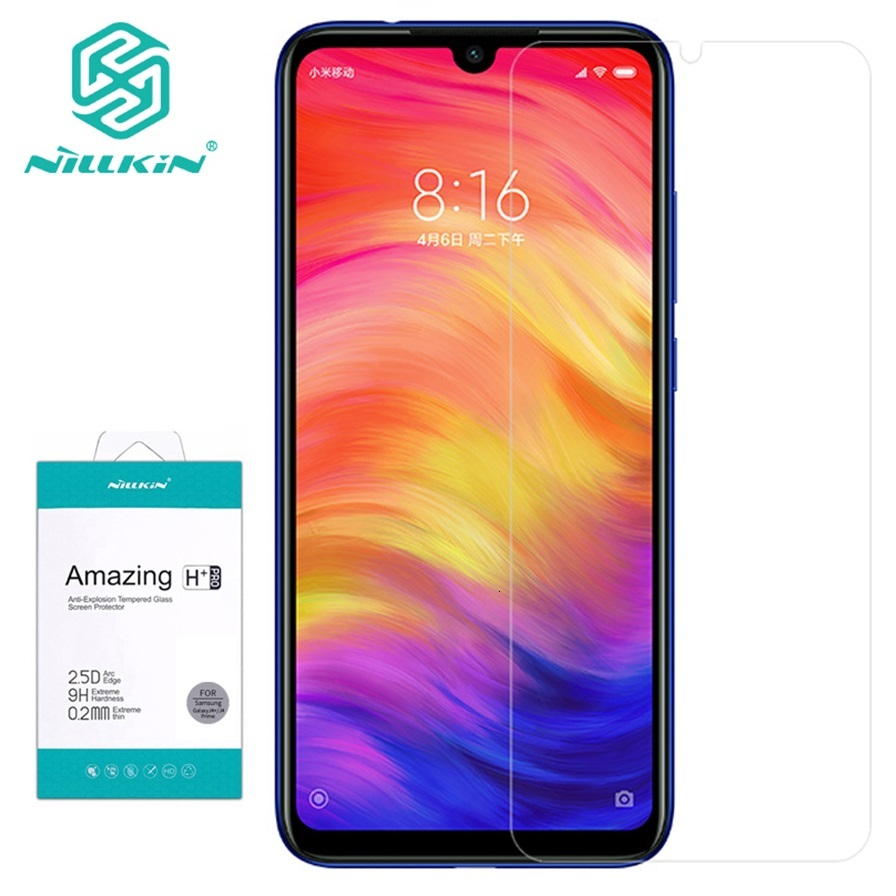 Nillkin Screen Protector For Xiaomi Redmi Note 7 Pro Tempered Glass Amazing H H+PRO Glass For Xiaomi Redmi Note7 Note 7S Phone