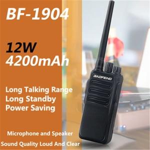 Baofeng Walkie Talkie BF-1904 12W UHF 2way Ham Radio Dual Band Mobile Radios Handheld BF1904 hf Transceiver Long Distance 2020