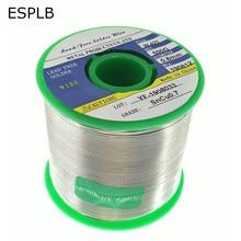 ESPLB 500G 0.6/0.8/1.0/1.2/1.5/2.0mm Lead Free Solder Wire Tin Welding Soldering Iron Rosin Core Solder Sn99.3 Cu0.7