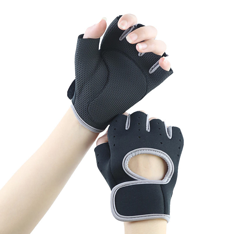 New Products Men And Women Dumbbell Apparatus Horizontal Bar Exercise Bracer Gym Sports Chin-up Sports Anti-slip Protective Glov