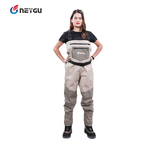 Image 4 - NEYGU waders de poitrine imperméables et ventilés, bottes à semelle en feutre pour sports nautiques, waders de pêche pour adultes pour planche