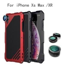 цена на 4 in 1 Phone Lens Cover Case For iPhone XR6.1 XS Max6.5 Fisheye Wide Angle Phone Camera Lens Macro Lens Telescope Zoom Lenses