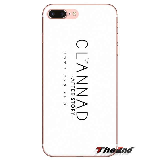 Soft Transparent Shell Cover Watch Clannad After Story Online For Samsung Galaxy A3 A5 A7 A9 A8 Star A6 Plus 2018 2015 2016 2017 Fitted Cases Aliexpress