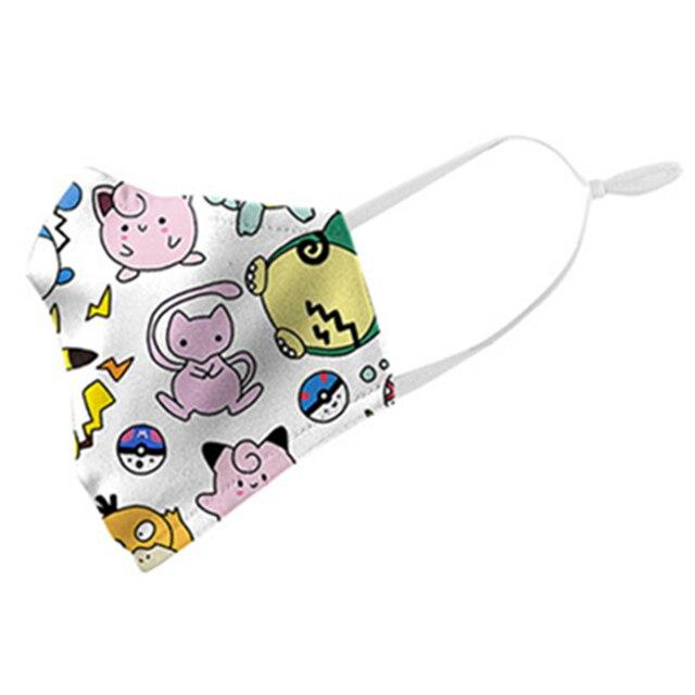 Pokemon Pikachu Tonari no Totoro Cosplay Face Mask Dustproof Adult Kids Masks 3