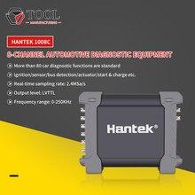 Hantek 1008c osciloscópio 8 canais usb pc armazenamento osciloscópio/daq/gerador programável digital osciloscópio automotivo