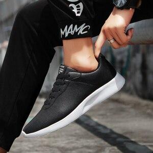 Image 5 - OZERSK 브랜드 2021 가을 큰 크기 35 47 Pu 가죽 남성 신발 캐주얼 클래식 스 니 커 즈 남성 Unisex 편안한 신발