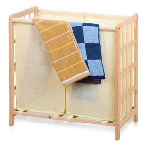 Laundry basket Confortime Wood (59 X 33 x 60 cm)