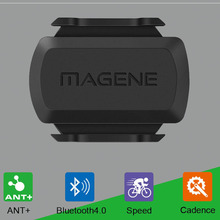 Fahrrad computer Radfahren Cadence Sensor ANT + Sensor Bike tachometer Speed Cadence Sensor Bluetooth kompatibel garmin bryton