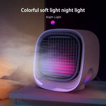 Air Conditioner Fan Device Air Cooler Arctic Air Personal Space Cooler Quick Cool Any Space  Home Office Desk Kitchen air cooler arctic air personal space cooler mini fan water cooling space air conditioner fan device home office desk