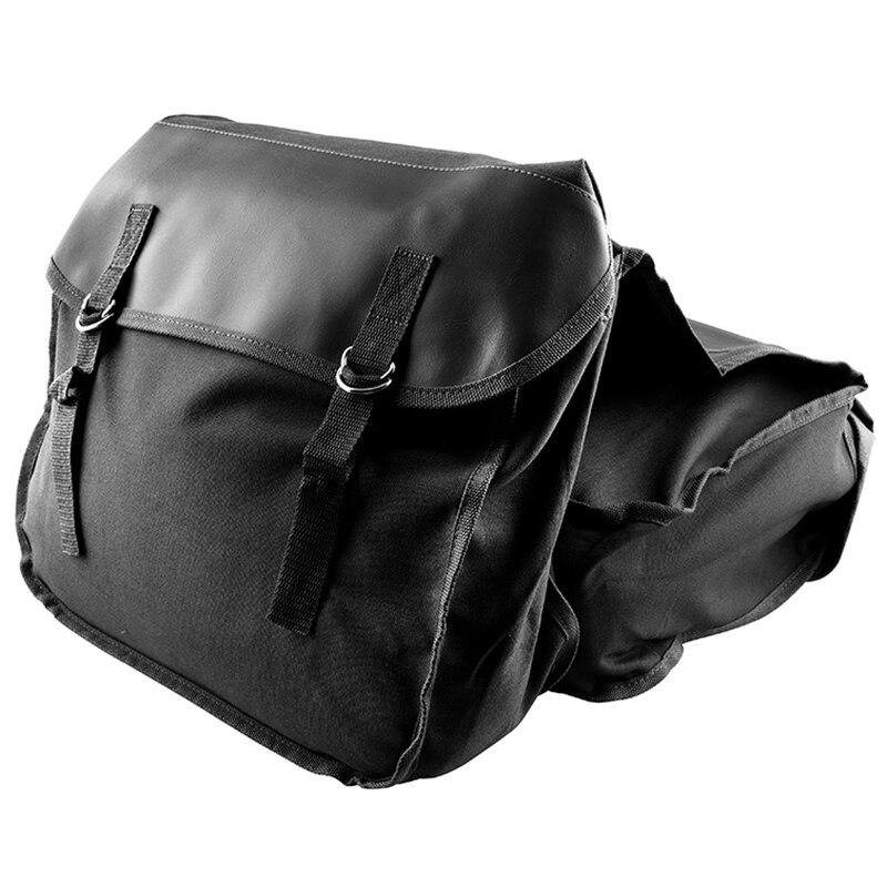Motorcycle Saddle Bags Panniers For Honda Yamaha Suzuki Sportster Kawaski Motorcycle Scooter Saddle Bag,Black