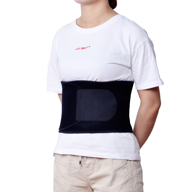 Manufacturers Direct Selling Cross Border Neoprene Faux OK Breathable Waistband Adjustable Warm Waist Supporter