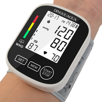 Фото - Blood Pressure Monitor Wrist Home Automatic BP Monitor Irregular Heart Beat Detection Cuff with Large LCD Displ sphygmomanometer blood pressure monitor upper arm automatic digital blood pressure monitor cuff home bp sphygmomanometers with large lcd display