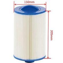 Russsia hot tub filter 205x150mm 8'x6' SAE Thread Ukraine spa filter