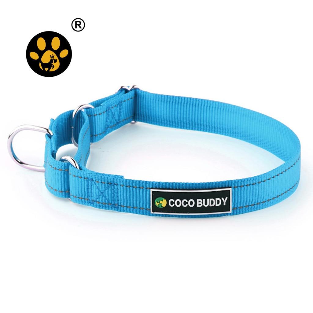 Place Of Origin Supply Of Goods Proof Punch Night Light Nylon Dog Collar Customizable Reflective Nylon Pet Collar Big Dog Neck R