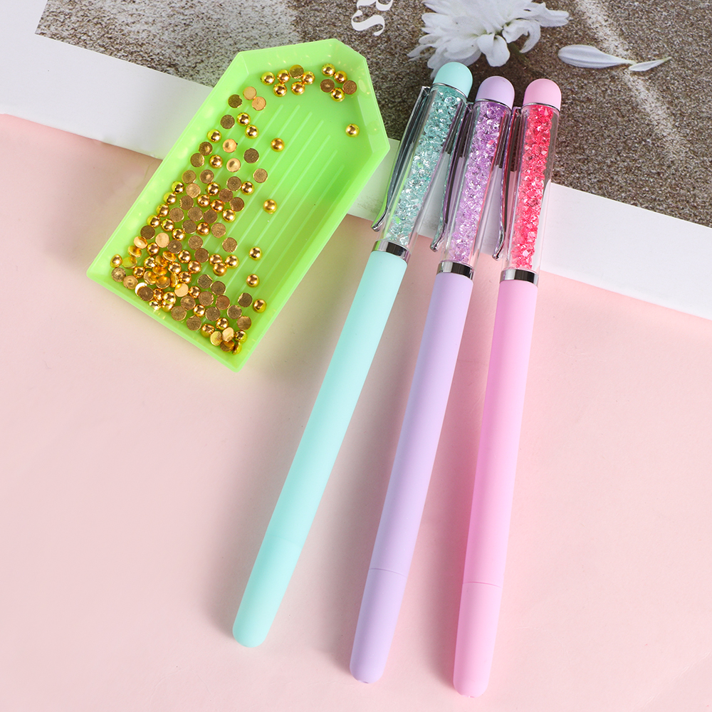 Double Head Rhinestones Embroidery DIY Tools Nail Art Diamond Painting Pen T