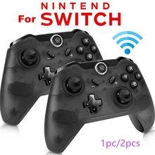 1Pcs/2 Pcs Wireless Gamepad Bluetooth Pro Controller Ergonomics gamepad