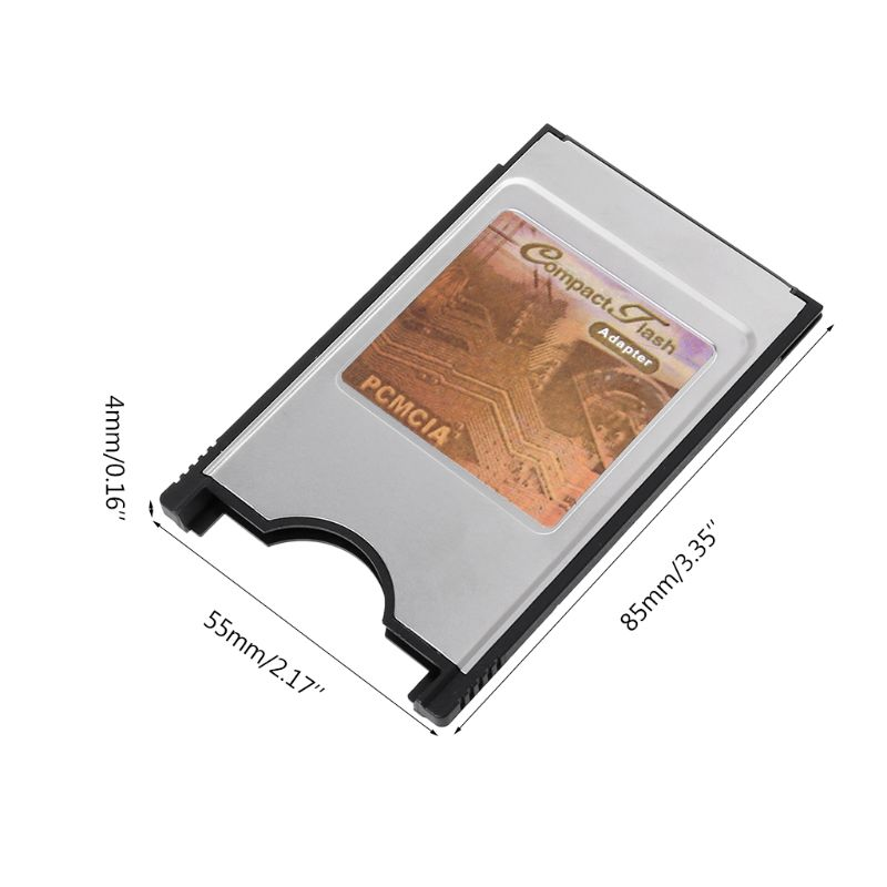 Compact Flash CF To PC Card PCMCIA Adapter Cards Reader For Laptop Notebook New K1AA