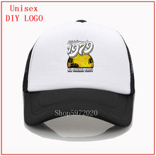 Made in 1979 All Original Parts white Hat baseball cap sun h
