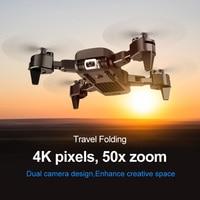 Quadcopter drone 4K mini drony zabawki dla chłopców rc Dron helicoptero VS M69 prezent wysokość trzymaj bezgłowy gest kontrola 2020 nowy w Helikoptery RC od Zabawki i hobby na