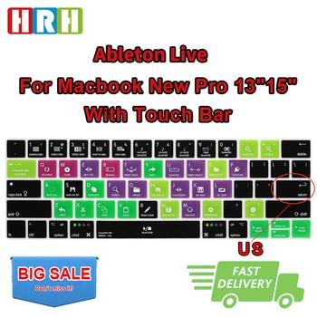 HRH Ableton Live-funda de silicona para teclado, para Mac Pro, 13