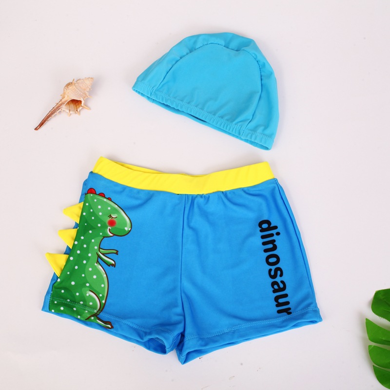 2019 New Style Cartoon Children BOY'S Swimming Trunks Cartoon Printed Infants BOY'S Swimming Trunks Baby Swimming Trunks 3-10-Ye