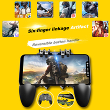 AK66 Sei Dita PUBG Controller di Gioco Gamepad Grilletto In Metallo Tiro Libero di Fuoco Gamepad Joystick Per IOS Android Del Telefono Mobile